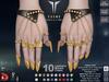 **RE** Exene Rings & Claws - Maitreya Bento - SLink Dynamic - TuTy Bento - Belleza Bento