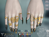 **RE** Witchy Rings & Nails - Maitreya, Belleza, SLink, TuTy