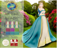 .Viki. Sem Dress - Springirl