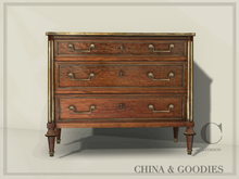 Plum Mahogany Commode  - C&G -