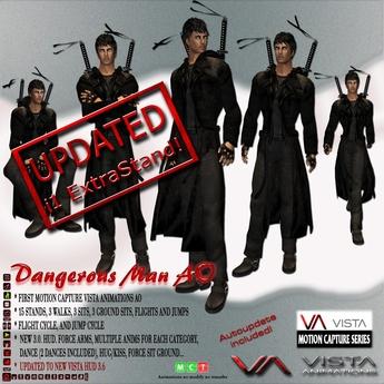 DISCOUNTED! VISTA ANIMATIONS-DANGEROUS MAN