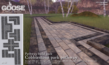 GOOSE - Cobblestone park pathway