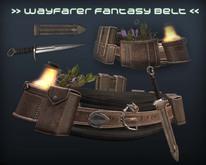 [P.0.E] - Wayfarer Fantasy Belt