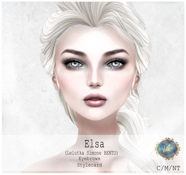 .VIki. DEMO - Elsa Head Shape - Lelutka Simone BENTO (Wear)