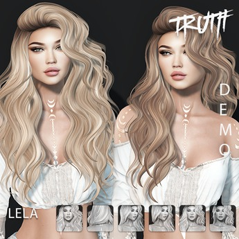 TRUTH Lela (Fitted Mesh Hair) - DEMO