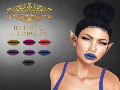 RML HOLLY CHIQ COLORFUL LIPS (UNPACK ME)