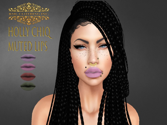 RML HOLLY CHIQ MUTED LIPS**