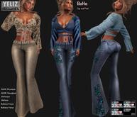 .:-->> YELIZ <<--:.  *BoHo* Top ● Jeans - HUD -