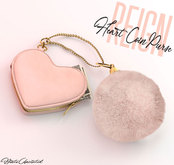 REIGN.- HEART COIN PURSE