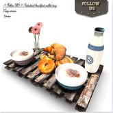 LIMITED OFFER !! Follow US !! Industrial breakfast pallet tray COPY version