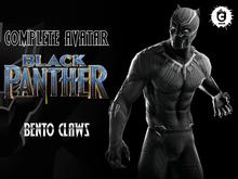 :: UCM :: Black Panther Avatar - Bento