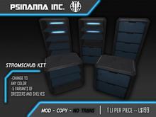 PsiNanna, Inc. Stromschub Shelves/Dressers