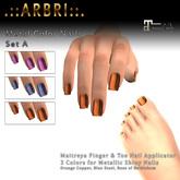 .::Arbri::. Maitreya Metal Nails Set A