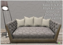 {Why Not?} Rassay Sofa Palm
