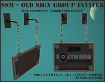 SSM - Old Sign - Group Inviter