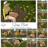 Lush Poses - Spring Garden 12 Pose Bento Pack