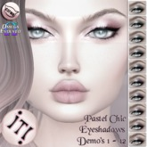 !IT! - Pastel Chic Eyeshadows Demo's 1 - 12