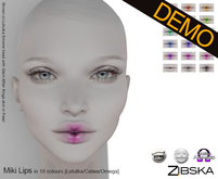 Zibska ~ Miki Lips Demo [lelutka/catwa/omega]