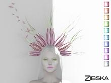Zibska ~ Chloe Colorchange Headpiece and orbit