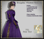 !!SMD!! Evangeline Windlace Gown Set-Overskirt (ADD ME!)