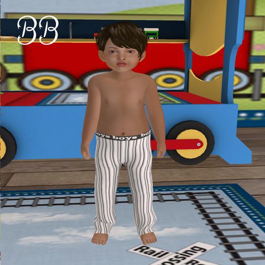 Second Life Marketplace - Boys Pajama Bottoms Full Permission bb unopened