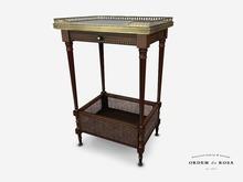 Ordem da Rosa - Louis XVI Chevet Side Table