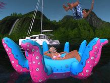 {ACD} Babygirl's Kawaii Kraken Floaty Set PG