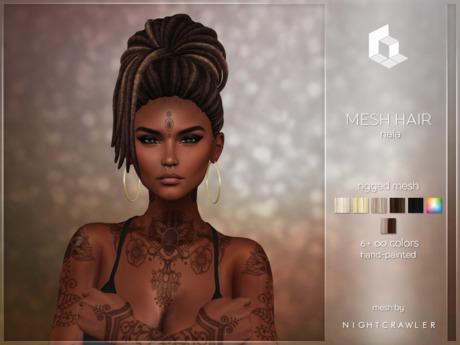 rezology Nala (Bento RIGGED mesh hair) NC - 602 complexity