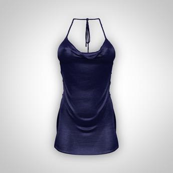 ANOIRCRE Ethere Dress DarkBlue (Mesh)