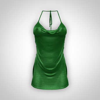 ANOIRCRE Ethere Dress Green (Mesh)