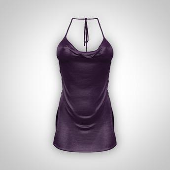 ANOIRCRE Ethere Dress Purple (Mesh)