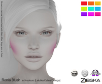 Zibska [50L Closeout] ~ Ronia Blush in 9 colors with Lelutka, Catwa and Omega appliers
