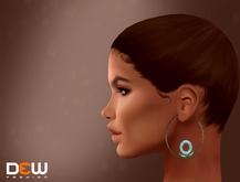 """DEW"" Carrie earrings"
