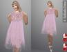 FaiRodis Spring Sunrise mesh dress Slink pink pack