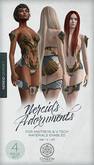 Nereid Adornments (Gold) ~ Core Set