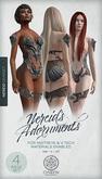 Nereid Adornments (Silver) ~ Core Set