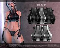 A&Y Electra Cyber Top - Black