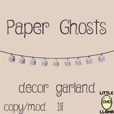 Little Llama - Paper Ghosts