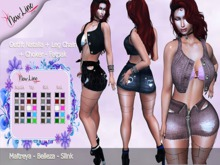 .:: New Line Store::.Natalia Outfit+Leg Chain+Choker - Fatpack