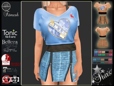 Stars - Maitreya clothes, Physique, Hourglass, Belleza - Sky