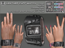 [Since1975] Leather Cuff Watch & HUD