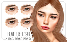 PROMO! milk teeth. FEATHER Lashes for Catwa