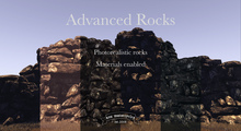 [sau]Advanced Rocks[Materials enabled photorealistic rocks]