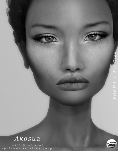 POEMA & AG. Akosua Skin - Tone 3 DEMO *BoM Updated*
