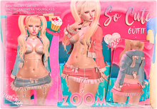 zOOm - So Cute Outfit - Pink and Blue Version!!
