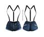 adorsy - Erika Jeans Shorts Dark Blue - Maitreya