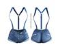adorsy - Erika Jeans Shorts Blue - Maitreya