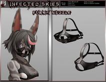 Furry Muzzle Female Black