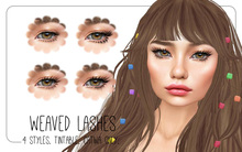 milk teeth. Weaved Lashes for Catwa