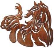 Wall Decor - Metal - Unbridled